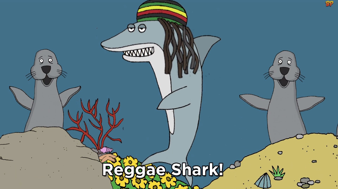 Reggae shark gilly s playground