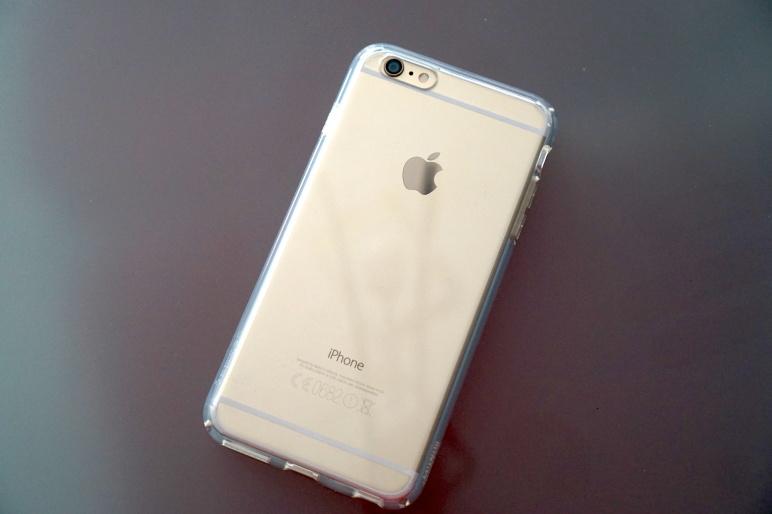 Spigen Case für iPhone 6 Plus - ULTRA HYBRID Crystal Clear 02