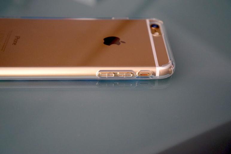 Spigen Case für iPhone 6 Plus - ULTRA HYBRID Crystal Clear 04
