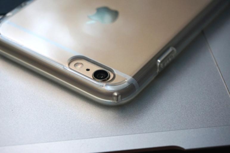 Spigen Case für iPhone 6 Plus - ULTRA HYBRID Crystal Clear 07