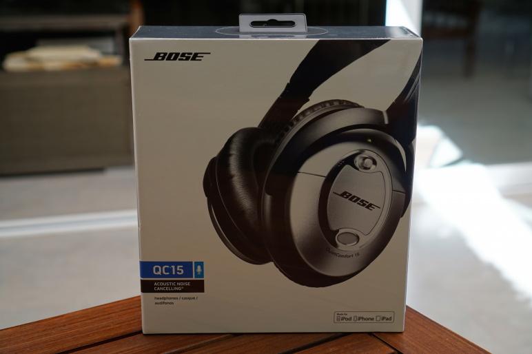 Bose QuietComfort 15 Kopfhörer mit Acoustic Noise Cancelling Test 01