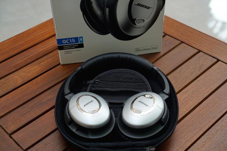 Bose QuietComfort 15 Kopfhörer mit Acoustic Noise Cancelling Test 04