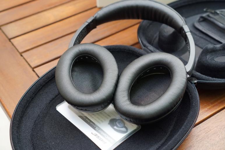Bose QuietComfort 15 Kopfhörer mit Acoustic Noise Cancelling Test 05
