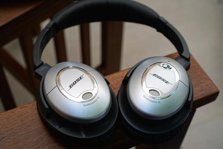 Bose QuietComfort 15 Kopfhörer mit Acoustic Noise Cancelling Test 09