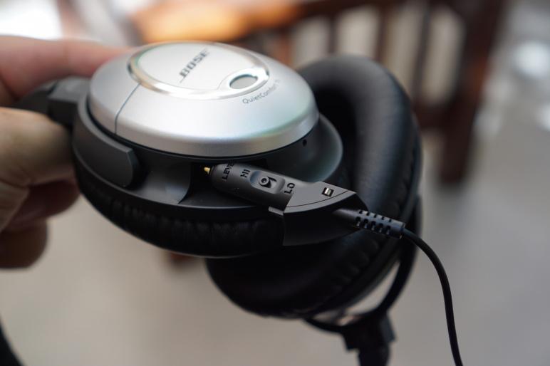 Bose QuietComfort 15 Kopfhörer mit Acoustic Noise Cancelling Test 11
