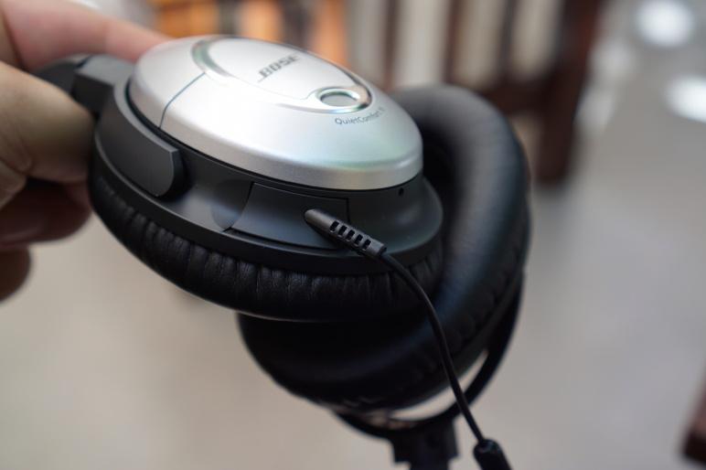 Bose QuietComfort 15 Kopfhörer mit Acoustic Noise Cancelling Test 12