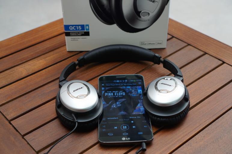 Bose QuietComfort 15 Kopfhörer mit Acoustic Noise Cancelling Test 14