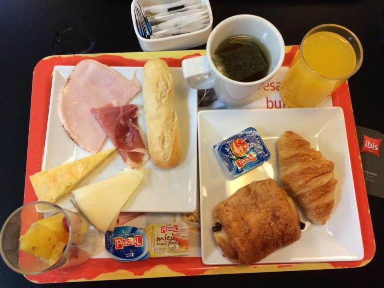 Frühstück Ibis Barcelona