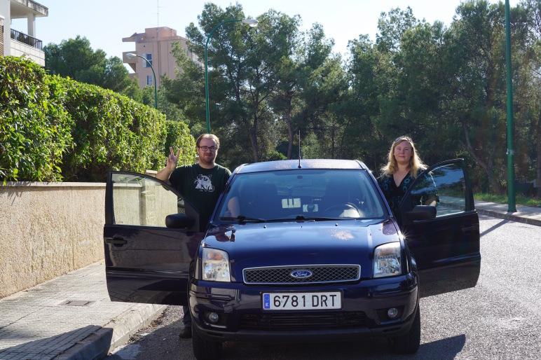 Roadtrip #Palma2Berlin #myibistrip Tag 1 01