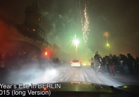20 Minuten mit dem Auto durch die Silvester-Knallerei in Berlin