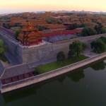 Kamera-Drohnen-Video: Peking von Oben