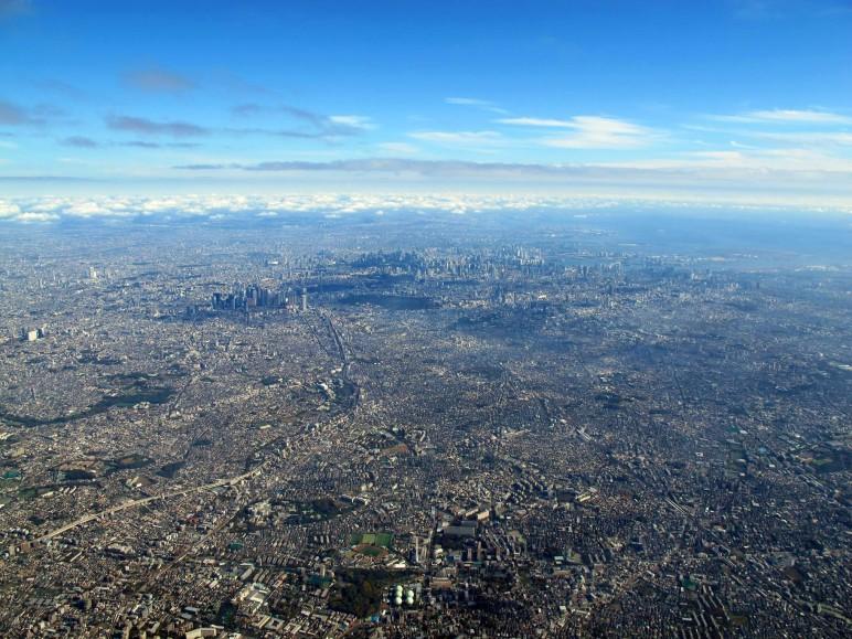 Tokyo is massive
