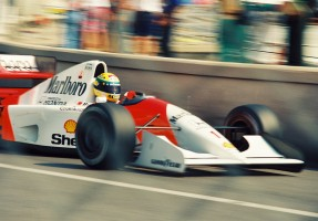 Ayrton Senna Top Gear Tribute