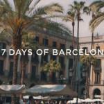 Fernweh: 7 Days of Barcelona