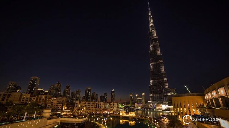 Dubai Day to Night