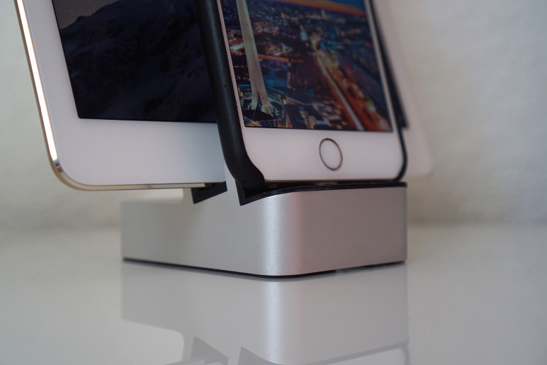 EverDock Duo Docking Station für Android Smartphones und Tablets iPhone und iPad 04