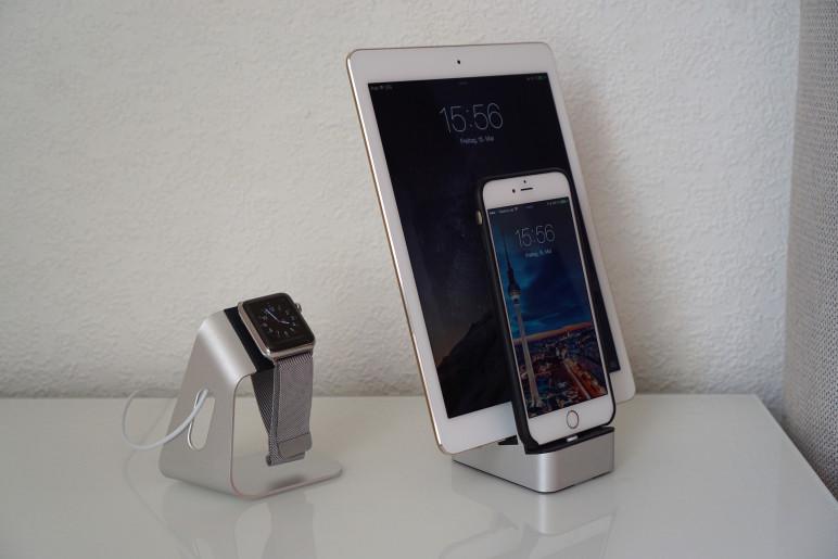 EverDock Duo Docking Station für Android Smartphones und Tablets iPhone und iPad 03