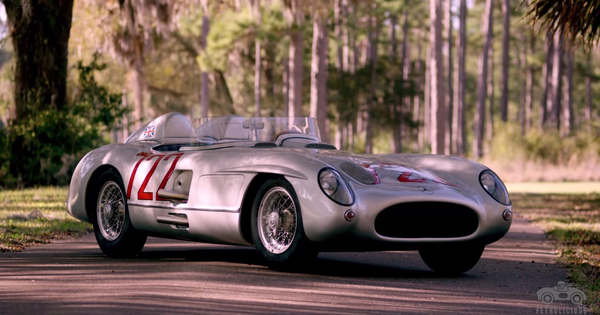 Sir stirling moss und der mercedes benz 300 slr 546556 for Mercedes benz 300 slr