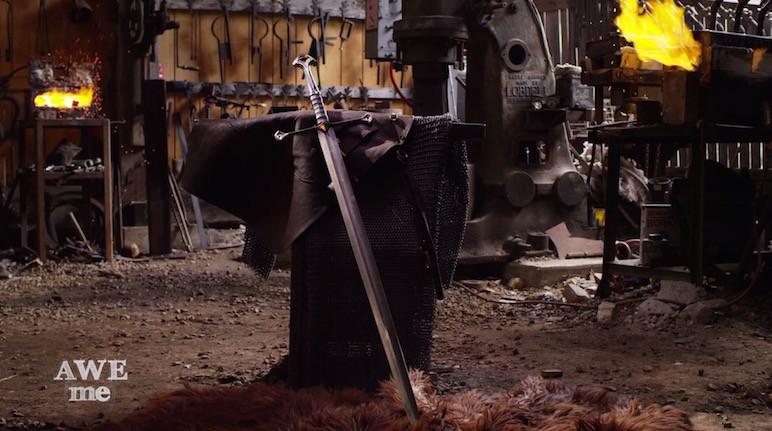 Aragorns Schwert schmieden (Narsil) und reparieren (Andúril)