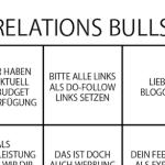 Blogger-Relations Bullshit Bingo