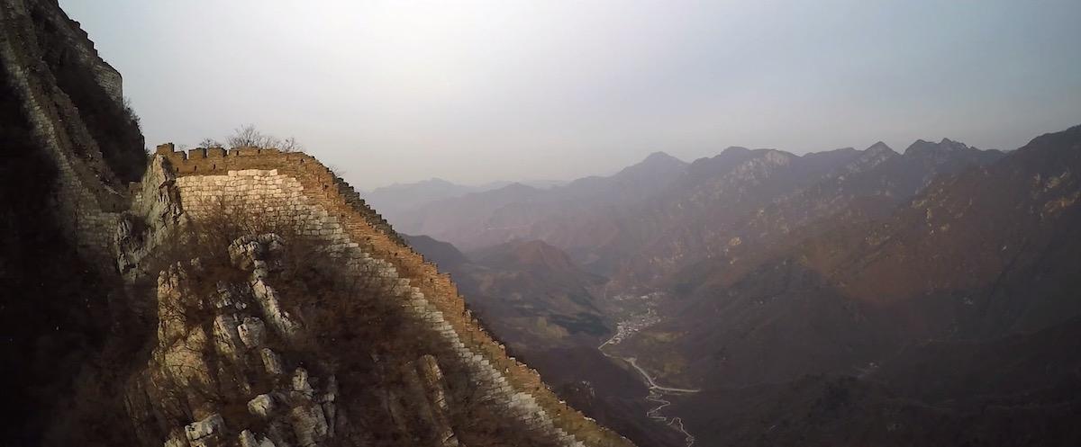 Kann Man Die Chinesische Mauer Aus Dem Weltall Sehen