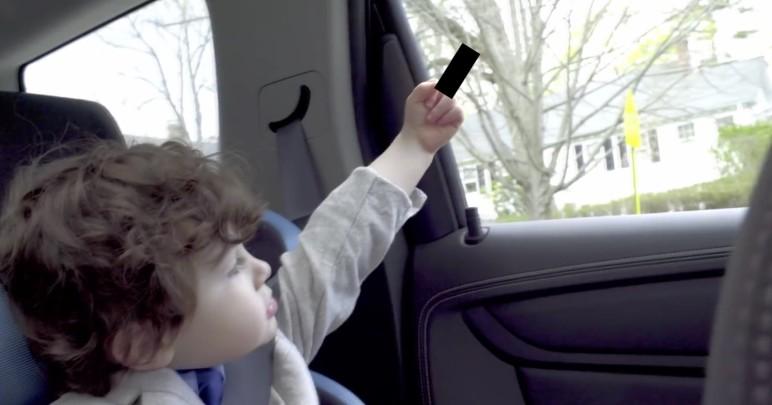 Smart Werbung Fluchende Kinder