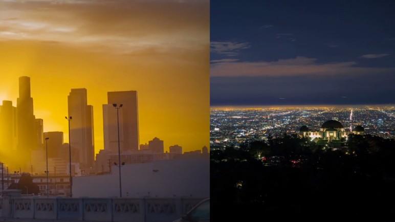 Los Angeles Time-Lapse Layer-Lapse Zeitraffer Videos