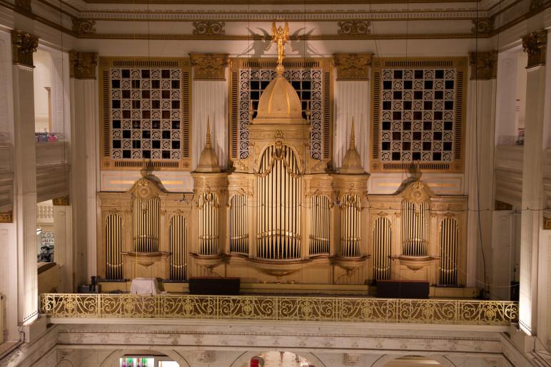 Wanamaker Organ im Macy's Kaufhaus in Philadelphia