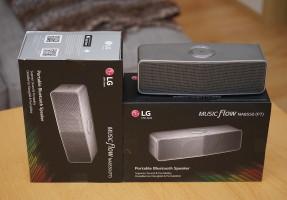 LG P7 Lautsprecher Bluetooth Akku Verlosung
