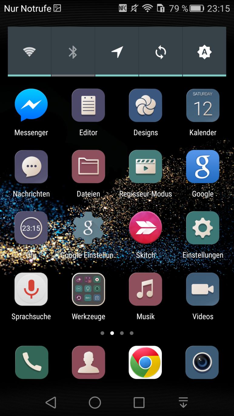EMUI 3.1 Zweite Seite
