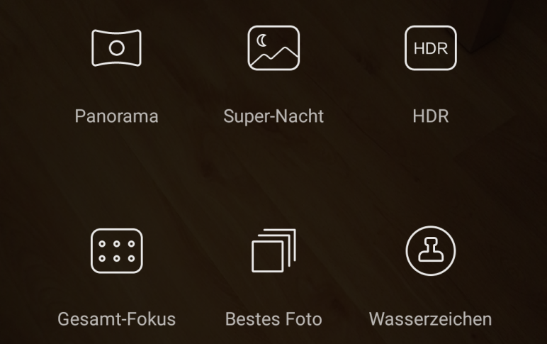 P8 Kamera Software