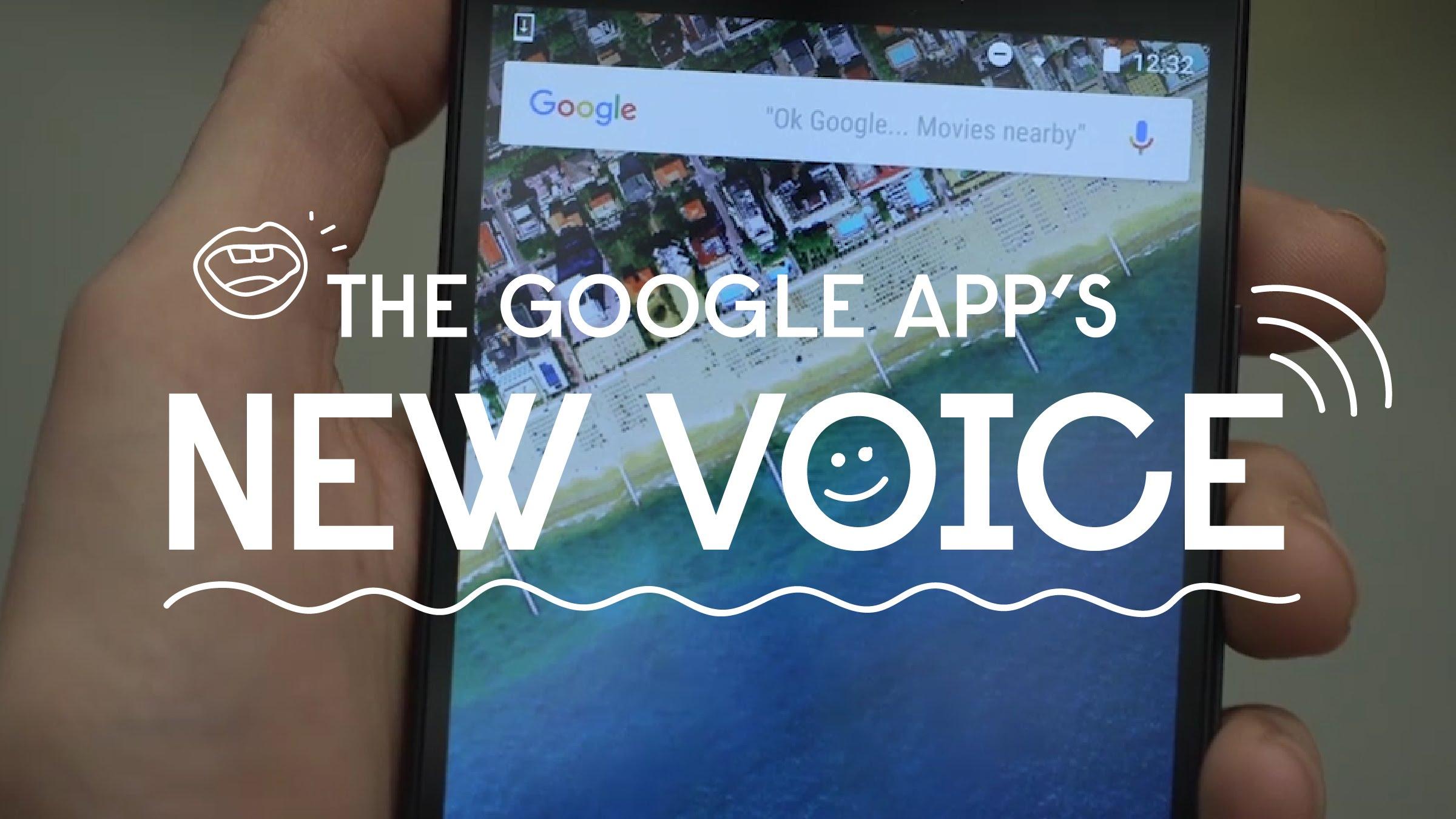 Googles New Voice