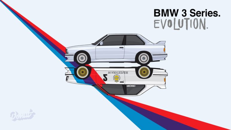 BMW 3er Evolution Animation