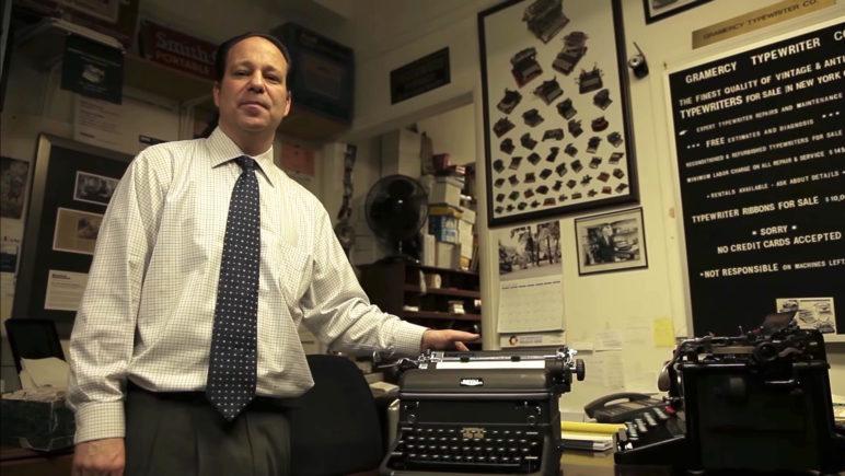Schreibmaschinen Familienbetrieb