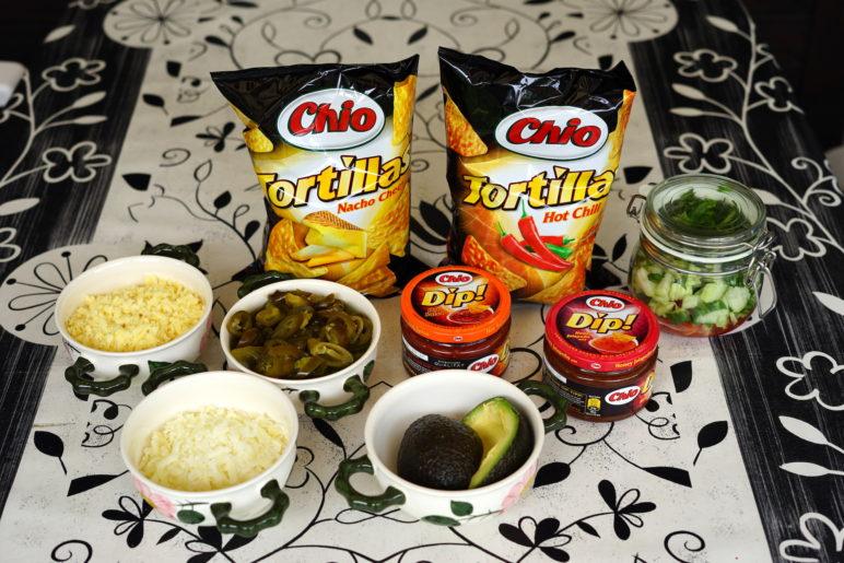 Chio Tortillas als Nachos vom Grill