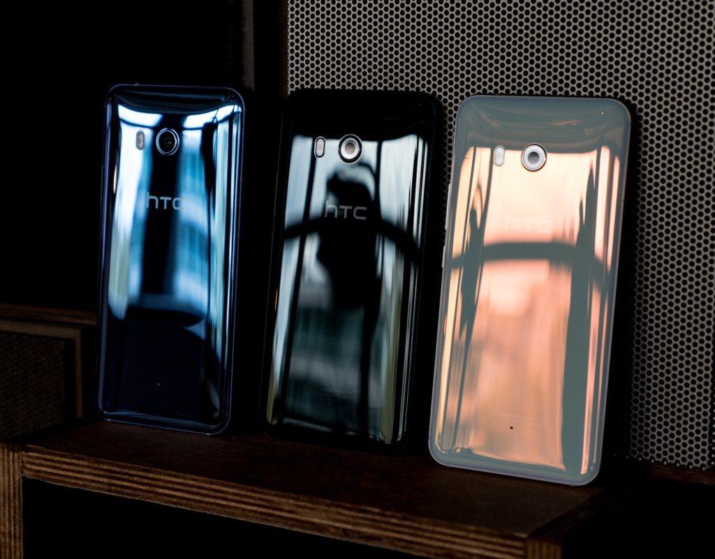HTC U11 Glasrückseite