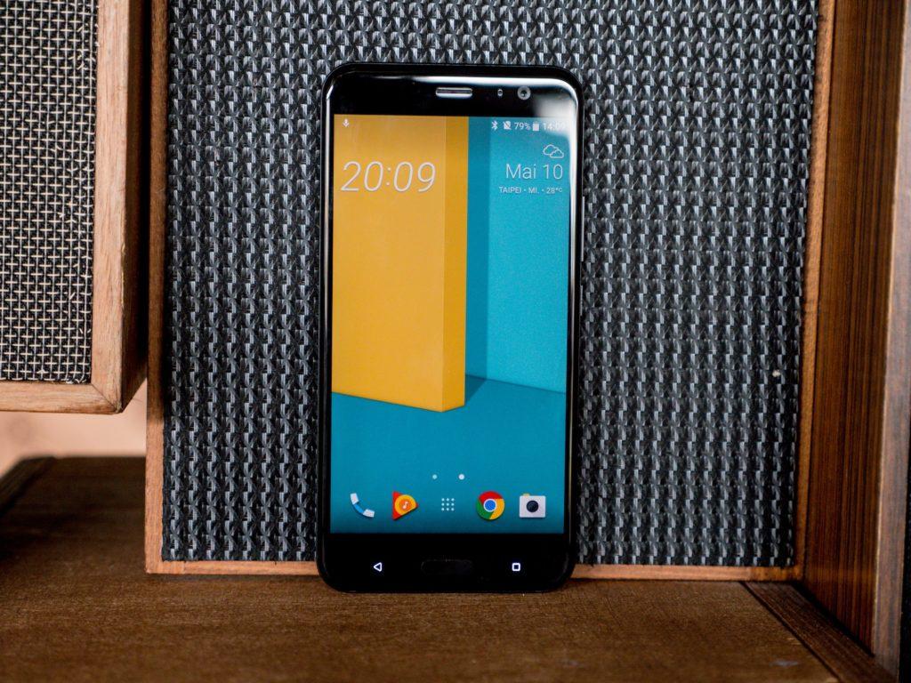 HTC U11 Vorderseite