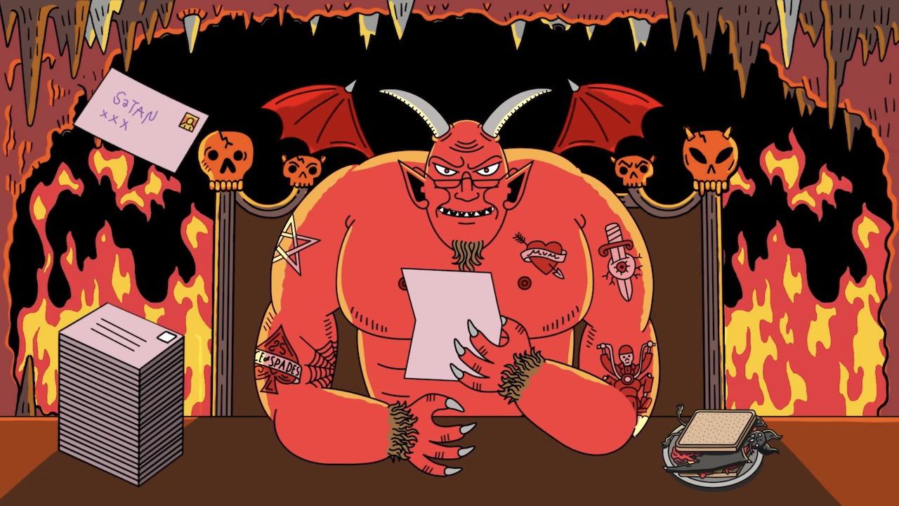 die beste weihnachtsgeschichte aller zeiten dear satan. Black Bedroom Furniture Sets. Home Design Ideas