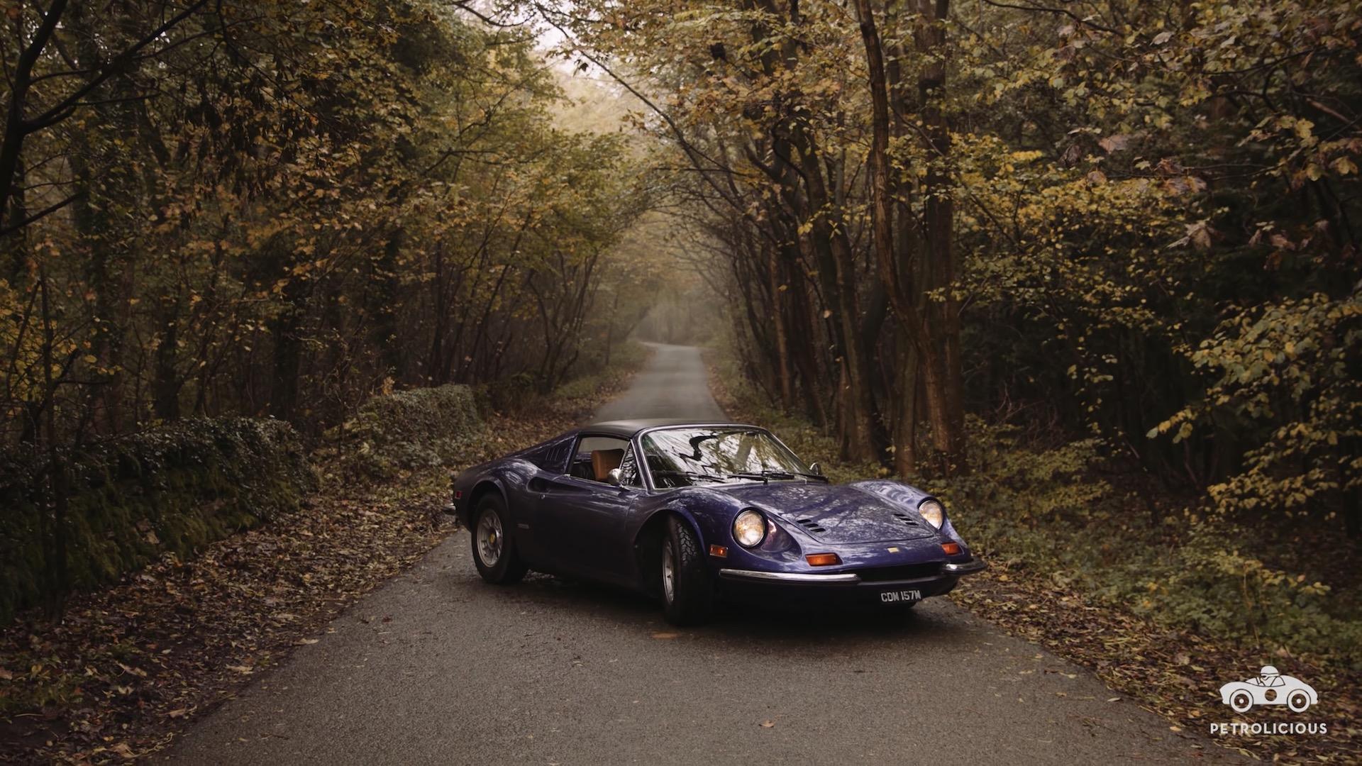Liebeserklärung An Einen 1974er Ferrari Dino 246 Gts Mit Dem Namen Viola Gillyberlin